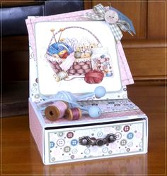 The Hobby House : Drawer Easel card Fancy Fold Cards, Folded Cards, Scrapbook Box, Hobby House, Shaped Cards, Easel Cards, Mothers Day Cards, Pop Up Cards, Homemade Cards