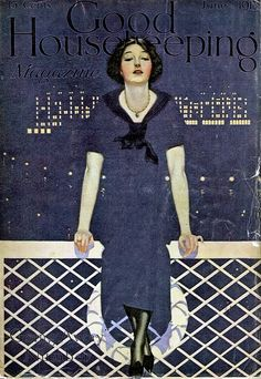 """Going Away""    Cover for Good Housekeeping magazine June 1913"