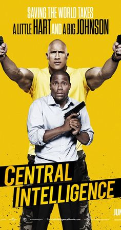 Central Intelligence (2016) 7/10 An enjoyable comedy, had a good few laughs. I love both Kevin and Dwayne and they were great in this. Few unexpected appearances such as Aaron Paul, Jason Bateman and Melissa Mccarthy. Probably something i'd stick on and watch again in the future.