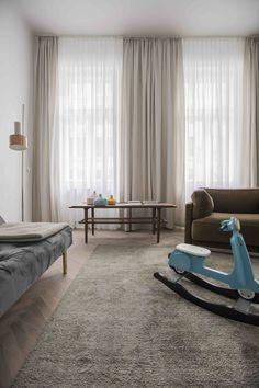View the full picture gallery of Apartment E&E Design Studio, House Design, Interior Architecture, Interior Design, Living Room Decor, Modern, Furniture, Home Decor, Vienna