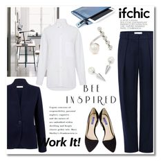 """""""Business attiire by Ifchic"""" by ifchic ❤ liked on Polyvore featuring moda, Atea Oceanie, Mohzy, Dee Keller e Joomi Lim"""