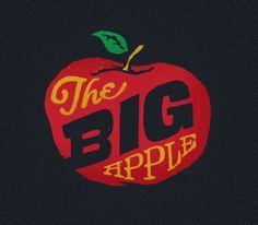 the big apple.