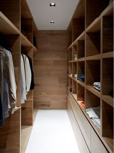 Smoked & Limed American Oak timber by Royal Oak Floors has been used by Robson Rak Architects in this beautiful walk in robe. I've got robe envy! Australian Interior Design, Interior Design Awards, Design Interiors, Modern Interior, Walk In Closet Design, Closet Designs, Bedroom Designs, Wardrobe Design, Walk In Robe Designs
