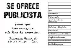 Curioso currículum de Javi de Barcelona Le Cv, Photoshop, Resume, Math Equations, Words, Creative, Barcelona, Style, Creativity