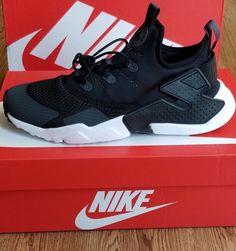 innovative design ddfeb f9444 New Kids Nike Huarache Drift Sneakers sz 7Y Blk Anthracite 943344 008 NIB New  Kids,
