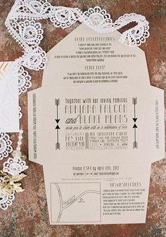 Our favorite wedding paper details of 2013 #font