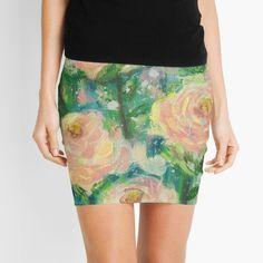 'Single Stems ' Mini Skirt by imye Stems, Knitted Fabric, Sequin Skirt, Mini Skirts, Printed, Knitting, Awesome, Stuff To Buy, Beautiful