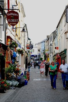 Ennis, Ireland - where Brian is from. We visit often