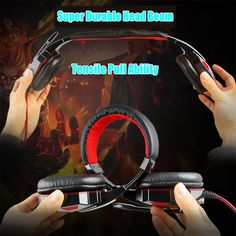 Stereo Casque Gaming Headphone USB3.5mm PC Glowing Headset LED Light with Microphone Noise Canceling Auriculares For PC Gamer