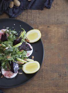 No Leftovers | Salada de Rúcula e Beterraba com Queijo Fresco
