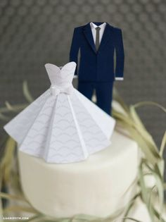 Mini Tuxedo Wedding Decorations