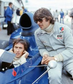 + Francois Cevert and Jackie Stewart- 6.10.1973