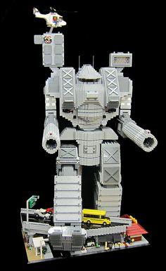 "LEGO Mech ""Warhammer"" by TheBrickMan, via Flickr"