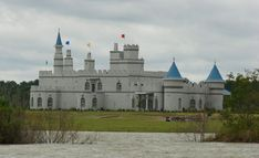 a castle in  Louisiana  It is in Sulphur Louisiana and the name of it is Chateau de Bon Reve (which means House of Good Dreams). The website is www.chateaudebonreve.com  Check it out!