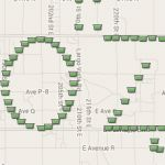Geocaching Geo-Art near Lake Los Angeles, USA. GC4F5MT #geocaching #geoart