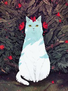 kylefewell: little bush cat.