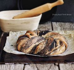 Milk and Honey: Poppy Seed Twist Bread