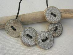 Bijoux en céramique, cuisson Raku : Le jardin des créations -  - Vous pratiquez la poterie ? Montrez-nous vos créations