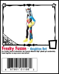 Freaky Fusion-Monster High Doll Checklist