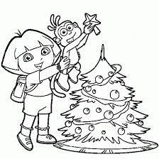 Dora Christmas Birthday cakes disneynickelodian Pinterest