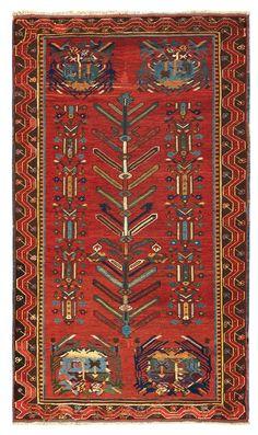 An anatolia rug late 19th century cm 210x124. from cambi casa d'este