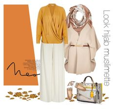 """""""Look hijab working girl"""" by riyas on Polyvore featuring mode, River Island et Valentino"""