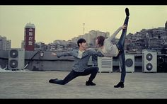 Levi's Ballet Commercial (Korea) a beautiful way to say jeans that stretch #sowirestudio likes it