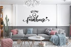 Wall Stickers Words, Vinyl Wall Decals, Sticky Vinyl, Dorm Rooms, Vinyl Lettering, Textured Walls, Decorating Your Home, Farmhouse Decor, Decorations