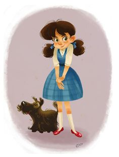 Image result for Dorothy Gale character design