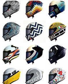Motorcycle Helmet Decals, Motorcycle Equipment, Custom Motorcycle Helmets, Futuristic Motorcycle, Custom Helmets, Racing Helmets, Motorcycle Outfit, Cg 125 Cafe Racer, Agv Helmets