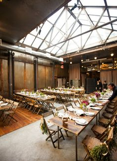 Rustic & Vintage Brooklyn venue | Photography: Betsi Ewing Studio