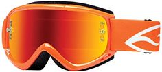 Smith Optics Fuel v1 Max M Motocross Goggles Neon Orange FrameRed Mirror Lens ** Continue to the product at the image link-affiliate link.