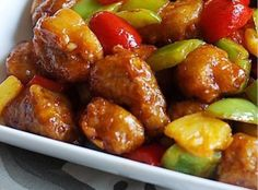 Sweet & Sour Pork Recipe | Just A Pinch Recipes#.T7V0255TvPx.pinterest