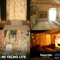 1000 images about revista mi tecno lite on pinterest for Luces para decorar habitaciones