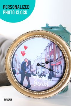 Home Remodel Fixer Upper A personalized photo clock makes a great gift!Home Remodel Fixer Upper A personalized photo clock makes a great gift! Diy Gifts To Make, Diy Gifts For Friends, Diy Crafts For Gifts, Crafts To Make And Sell, Friends Mom, Homemade Crafts, Fun Crafts, Photo Clock, Diy Clock