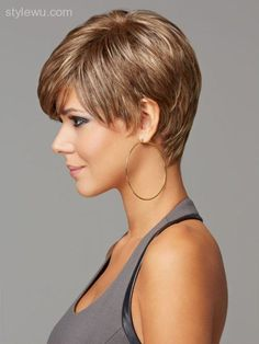 Short haircuts square face - http://stylewu.com/short-haircuts-square-face.html