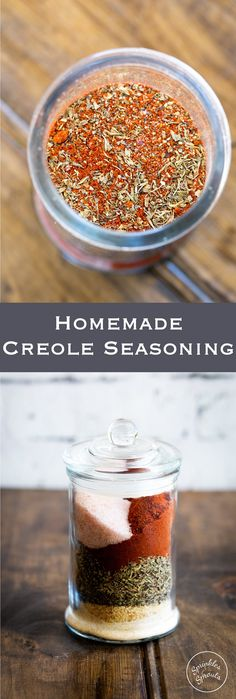 This Creole Seasoning is a wonderful blend of spices that could only come from New Orleans!! Perfect for adding flavour to so many dishes! From https://www.sprinklesandsprouts.com.au