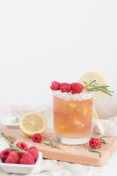 Peach Raspberry lemonade Iced Tea Recipe