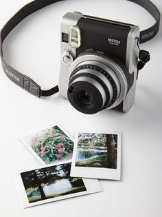 Cool Fuji Instax Mini Camera with Film http://rstyle.me/~329UI