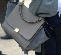 Céline Trapeze Bag large via Joke Hoogewijs. Click on the image to see more!