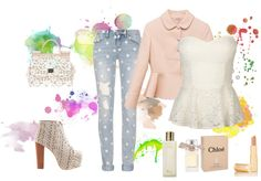 """streetway"" by sweetcookie123 ❤ liked on Polyvore"