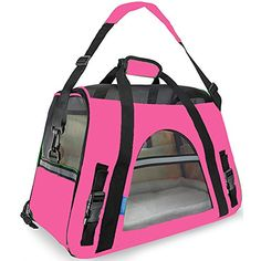 BOSON PRODUCT Backpack Portable SoftSided Single Shoulder Pet Outdoor Travel Carrier bag for Dogs and Cats Large >>> See this great product.