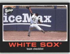 2002 Upper Deck Vintage 115 Carlos Lee TC - Chicago White Sox (Team Checklist) (Baseball Cards) -- This is an Amazon Affiliate link. Be sure to check out this awesome product.