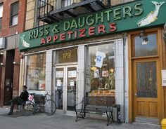 Russ & Daughters - NYC