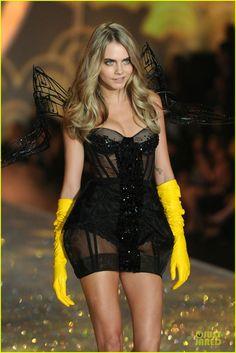Cara Delevingne - Victoria's Secret Fashion Show 2013