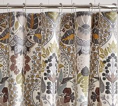 Victoria Shower Curtain Option For Upstairs Bath