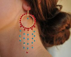 Nevina Dea Earrings Ready to Ship by luxdivine on Etsy, $88.00