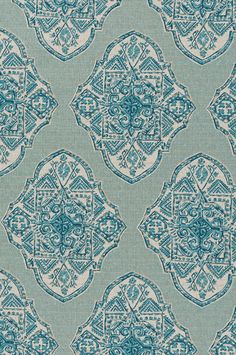 Malta - Capri Textile by Lacefield | Fabric by the Yard #interiors #blue #textiledesigner www.lacefielddesigns.com