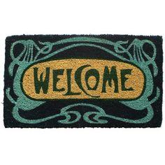 Art Deco Welcome Handwoven