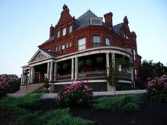The Weidemann Hill Mansion located in Newport, KY. The Mansion was built in 1894 by Charles Wiedemann, heir to the George Wiedemann Brewery.   Cincinnati's noted architect Samuel Hannaford (Music Hall, City Hall, Cincinnatian Hotel, Wiedemann Brewery) was commissioned to design the chateauesque style mansion.